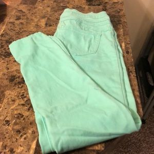 Teal Rue 21 high waisted Jegging